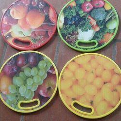 thớt 3d trái cây tròn vuông giá sỉ