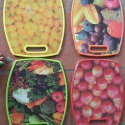 thớt 3d trái cây tròn vuông giá sỉ, giá bán buôn