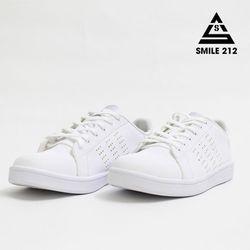 GIÀY THỂ THAO NAM / NỮ SMILE SILVER SIGNATURE FULL WHITE