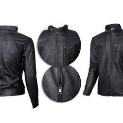áo khoác da túi dọc giá sỉ, giá bán buôn