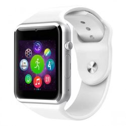 Đồng hồ thông minh đa chức năng smartwatch A1 trắng giá sỉ