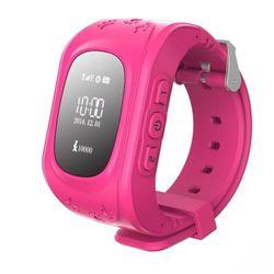 Đồng hồ định vị giám sát cho trẻ em GPS PTC Hồng giá sỉ