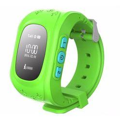 Đồng hồ định vị giám sát cho trẻ em GPS PTC xanh lá giá sỉ