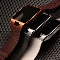 Đồng Hồ Thông Minh smartwatch DZ09 nâu giá sỉ