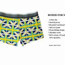 Quần lót Nam Boxer họa tiết