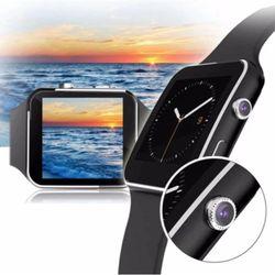 Đồng hồ thông minh X6 màn hình cong đen giá sỉ