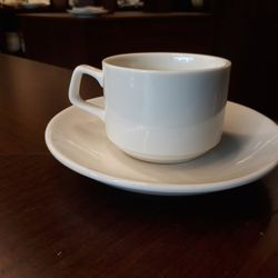 tách cafe minh chau kèm đĩa lót