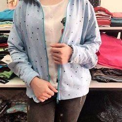 áo khoác nữ Áo nắng nỉ da cá Lansent 2in1 -ND01609