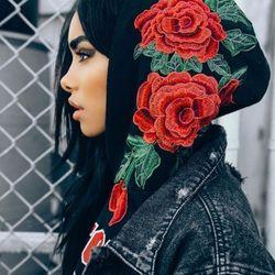 Black rose hoodie giá sỉ