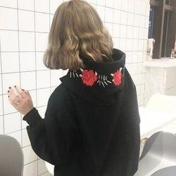 Black rose hoodie - giá sỉ, giá tốt