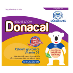 DONACAL Bổ Sung Canxi và Vitamin D cho Bé