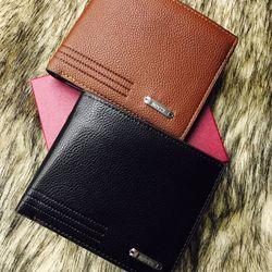 Bóp da nam Bovis Fashion TGS4503 phối sọc hàng nhập khẩu quảng châu với chất da cao cấp