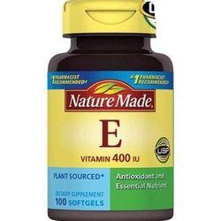 Vitamin E 400 iu Nature Made 180 viên nang mềm giá sỉ