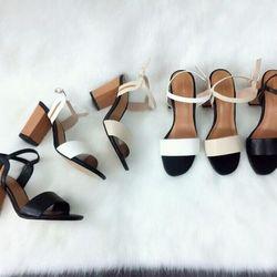 sandal nữ đế vuông giá sỉ