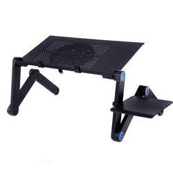 Bàn để laptop có quạt tản nhiệt và khay để chuột - BS15 giá sỉ