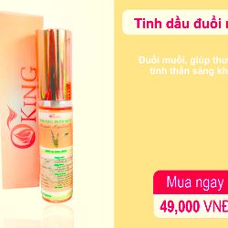 Tinh dầu đuổi muỗi - 10ml