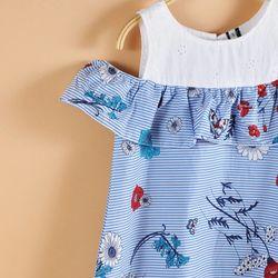 Váy hoa trễ vai - giá sỉ, giá tốt