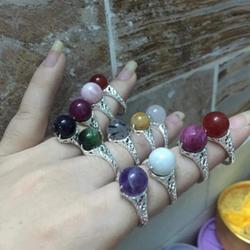 Nhẫn bạc đính đá - 131