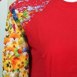 áo cách tân hoa 3D