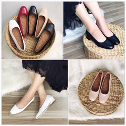 giày búp bê êm chân
