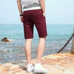 quần short kaki viền chỉ nổi thun trơn bao đẹp khỏi chê giá sỉ