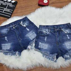 quần short yean nử có đính đá túi cotton mềm mịn mang thích lắm