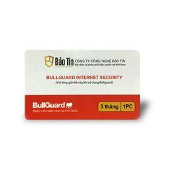 Phần mềm diệt virus BullGuard Internet Security 1 năm 1 máy tính - BIS3M giá sỉ