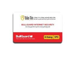 Phần mềm diệt virus BullGuard Internet Security 1 năm 1 máy tính - BIS6M giá sỉ