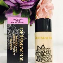 Kem Lót Makeup Dermacol Bb Cream Tạo Nền Cực Mịn Hỗ Trợ Che Khuyết Điểm Vi Diệu Chống Nắng Spf37