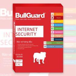 Phần mềm diệt virus BullGuard Internet Security 1 năm 3 máy tính - BIS3U giá sỉ