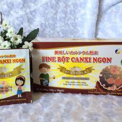 Bột CANXI Ngon Fine Japan vị Socola