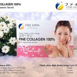 Bột Fine Collagen 100 - The Japanese Secret