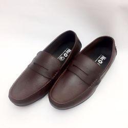giày mọi da bò nâu nguyên miếng giá sỉ