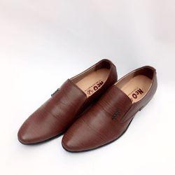 giày tây lười nam tạo vân kiểu giá sỉ