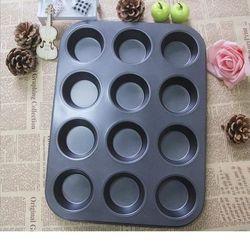 Khuôn nướng bánh chống dính 12 lỗ