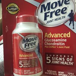 Schiff glucosamine Move free Advanced 200vien