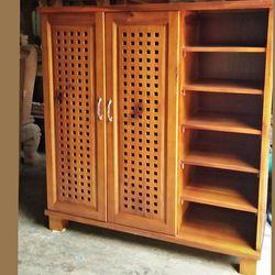 Tủ dép gỗ Tràm giá sỉ