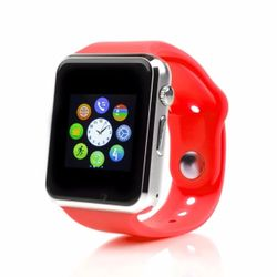 Đồng hồ thông minh đa chức năng smartwatch A1 đỏ