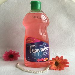Nước rửa chén sinh học Thảo mộc hoa dâm bụt và hương bưởi giá sỉ