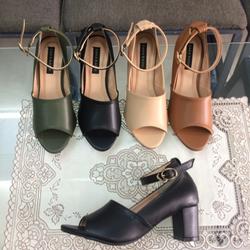 Giày sandal cao gót 5cm nối hông giá sỉ