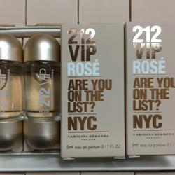 nước hoa nữ 212 vip Rose 5ml