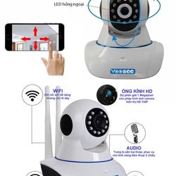Camera giám sát IP Wifi không dây Yoosee