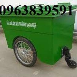 Thùng rác 660l nhựa HDPE - COMPOSITE giá sỉ