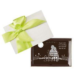 Socola tình nhân valentine nghệ thuật 10x15 Dart Chocolate giá sỉ