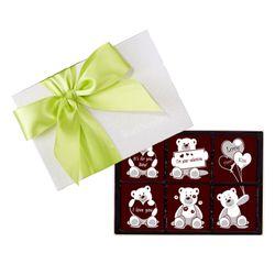 Socola tình nhân Valentine 6 viên 5x5 Dart Chocolate giá sỉ