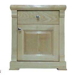 Tủ đầu giường 1 ngăn kéo gỗ Sồi Nga