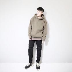 hoodie rêu