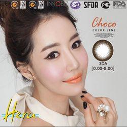 Kính áp tròng Hera 3DA CHOCO 000-800 ĐỘ áp tròng giá sỉ