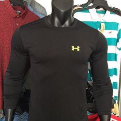 Áo thun tay dài thể thao nam màu đen giá sỉ
