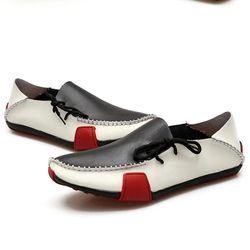 Giày lười nam phối màu độc đáo cực kỳ sang trọng 626